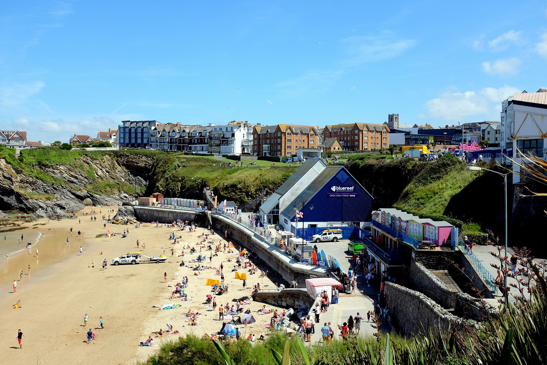 Beaches of Newquay